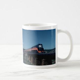 "SP ""Daylight"" train, led by 4-8-4 Coffee Mug"