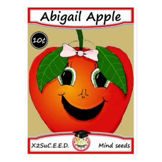SP de Abigail Apple Tarjetas Postales