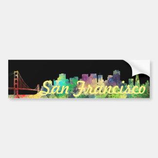 SP DEL HORIZONTE DE SAN FRANCISCO - PEGATINA PARA AUTO