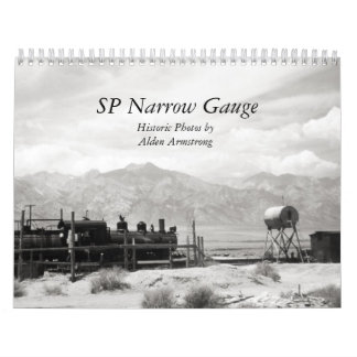 SP Narrow Gauge Black and White Photography Calendar