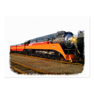 SP Steam Train Large Business Card