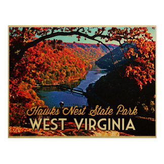 SP Virginia Occidental de la jerarquía de los halc Tarjetas Postales