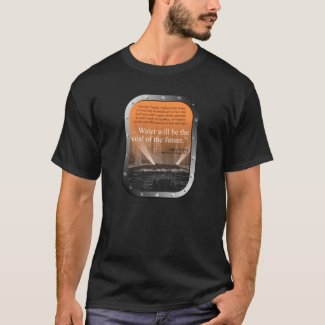 SP Water...coal of the future - T-shirt (tangerine