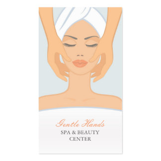 Spa and Beauty Appointment Card