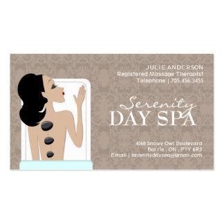 Spa and Easthetics Business Card