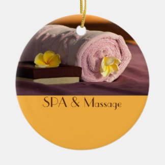 SPA and massage Christmas Tree Ornaments