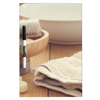 Spa and Retreat Background Dry Erase Board