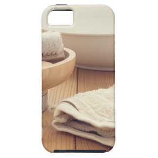 Spa and Retreat Background iPhone SE/5/5s Case