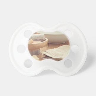 Spa and Retreat Background Pacifier