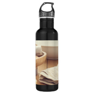 Spa and Retreat Background Water Bottle