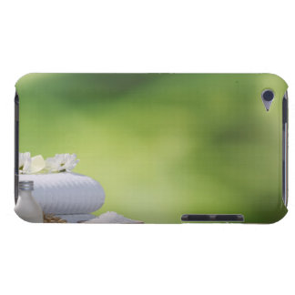 Spa and Wellness Utensils in a tropical garden iPod Touch Case-Mate Case