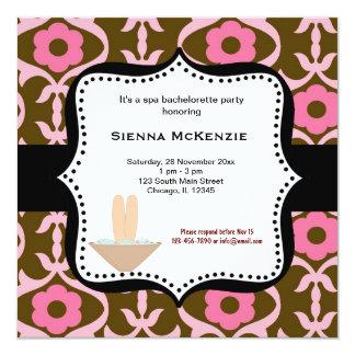 Spa Bachelorette Party Card