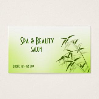 Spa & Beauty Business Card