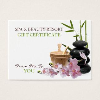SPA & Beauty Resort Gift Certificate
