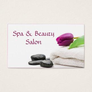 Spa & Beauty Salon Business Card