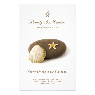 Spa Beauty Salon flyer