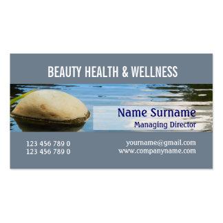 Spa beauty salon zen PERSONALIZE Business Cards