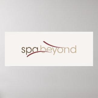 Spa Beyond Logo Poster