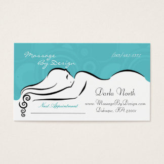 Spa Blue Darla  Business Cards