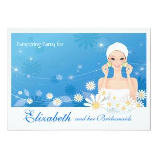 Spa Breeze Bridesmaids Party Invitation