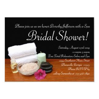Spa Bridal Shower, Salon Scene Invitations