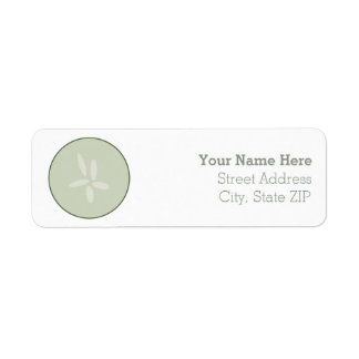 Spa Cucumber Slice Address Label