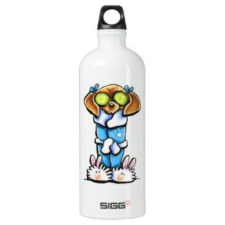 Spa Dachshund Water Bottle