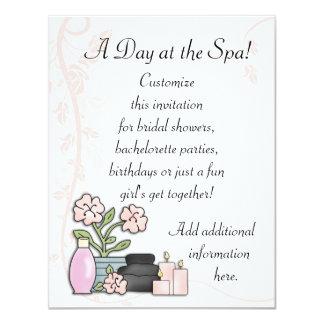 Spa Day Card