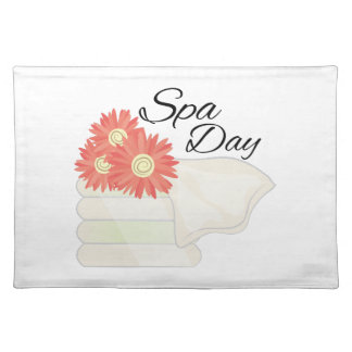 Spa Day Cloth Place Mat