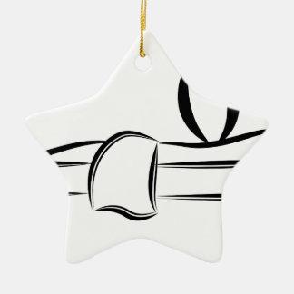 Spa Day Massage Ceramic Ornament