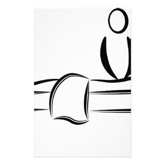 Spa Day Massage Stationery