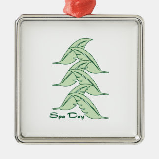 Spa Day Christmas Ornament