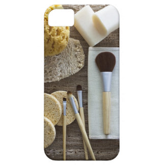 Spa detail of sponges and brushes iPhone SE/5/5s case