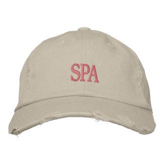 SPA Distressed Chino Twill Cap Embroidered Baseball Cap