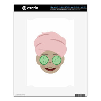 Spa Facial Decals For The NOOK