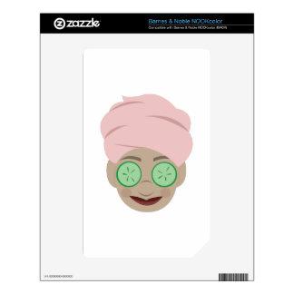 Spa Facial Decal For NOOK Color