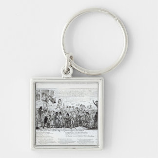 Spa Fields Orator Hunt-ing for Popularity Keychain