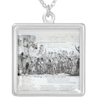 Spa Fields Orator Hunt-ing for Popularity Silver Plated Necklace
