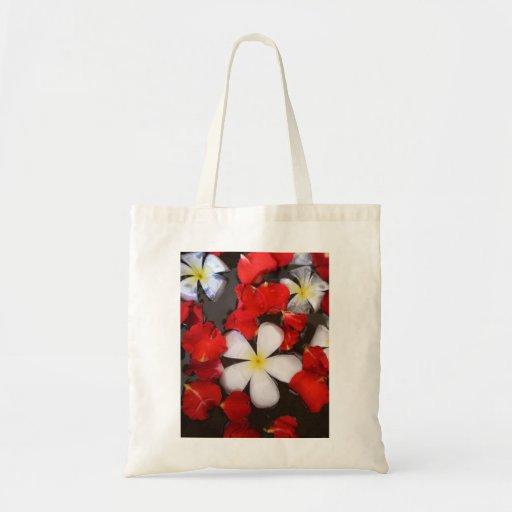 Spa Flower Canvas Bag