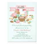 Spa Health Beauty Invitation