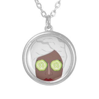Spa Lady Silver Plated Necklace
