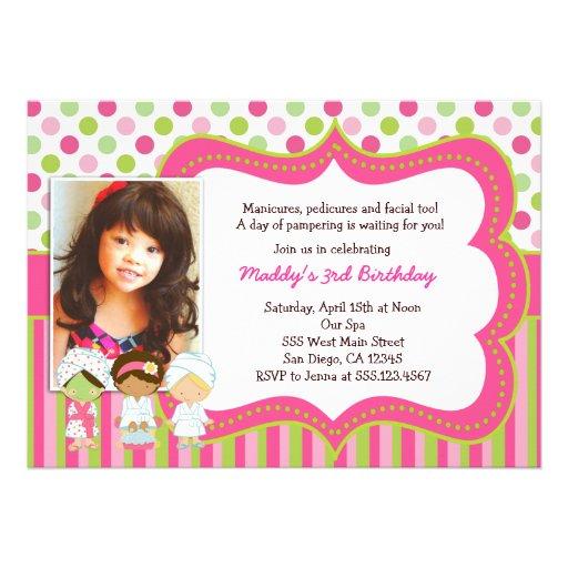 Personalized Manicure pedicure Invitations – Pedicure Party Invitations