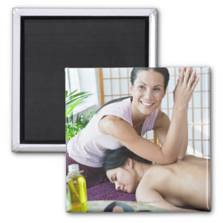 Spa massage 2 magnet