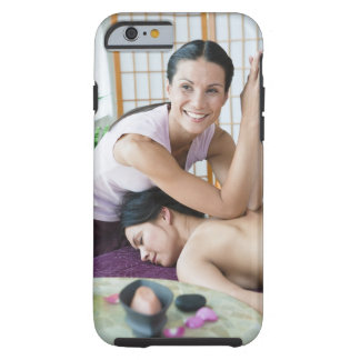 Spa massage 2 tough iPhone 6 case