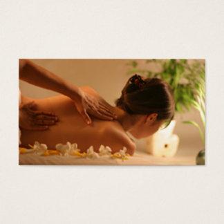 Spa Massage Business Card