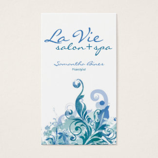 Spa or Salon Business Cards