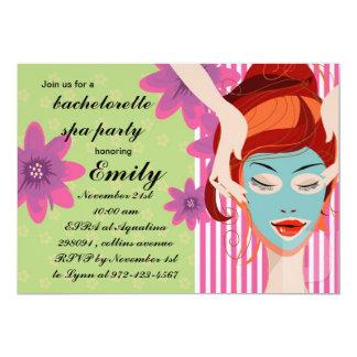 Spa Party invitation