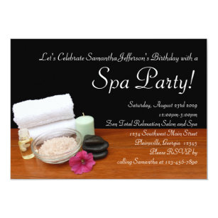 Salon Party Invitations Announcements Zazzle