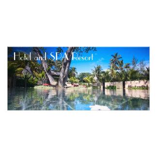 SPA resort Rack Card