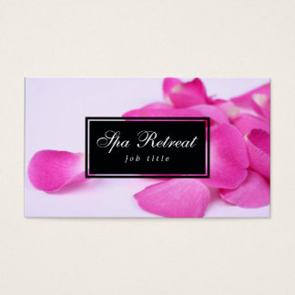 Spa Retreat 2 Business Card
